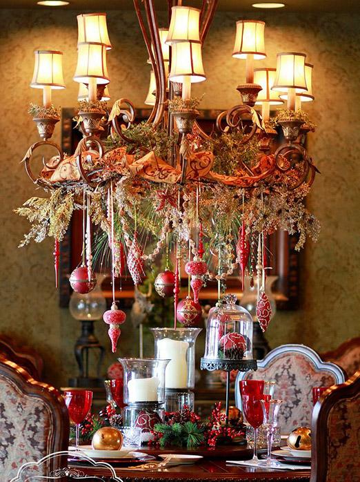 Рождественские украшения для дома купить