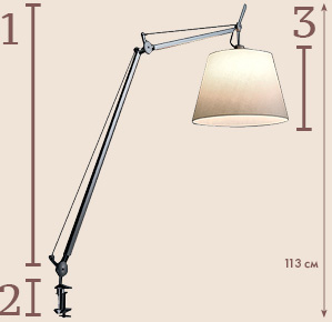 Tolomeo Table Mega