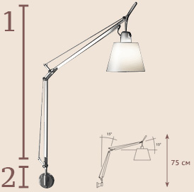 Tolomeo Parate Basculante