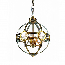 Подвесной светильник Delight Collection Hagerty 4 ant.brass Hagerty