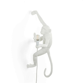Monkey Lamp Outdoor Hanging Right