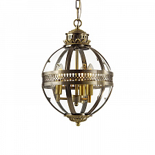 Подвесной светильник Delight Collection Residential 3 ant.brass Residential