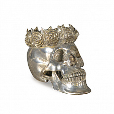 Статуэтка Ateliers C&S Davoy Silver Queen Skull Extraordinary Voyages BDIV112/A silver