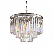 Подвесной светильник Delight Collection Odeon 6 chrome/clear 1920s Odeon