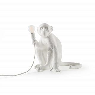 Monkey Lamp Outdoor Sitting
