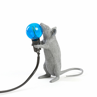 Mouse Lamp Grey Step