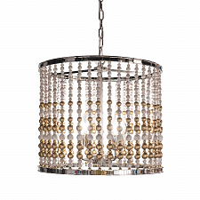 Люстра Delight Collection KW0783P-4 silver Wood Light