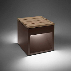 Скамья B.lux Vanlux Lap Bench 45B Led Rust Lap