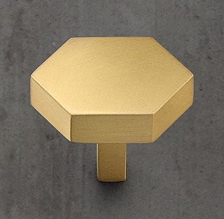 Lambeth Hexagonal Brass