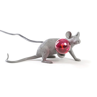 Mouse Lamp Grey Lop