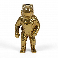 Ваза Seletti Cosmic Diner Starman Gold Cosmic Diner, Diesel Living with Seletti