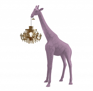 Giraffe In Love XS Dusty Rose