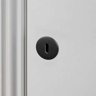 Escutcheon Plate Black