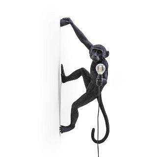 Monkey Lamp Hanging Right