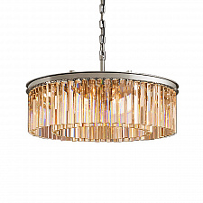 Подвесной светильник Delight Collection Odeon 10B chrome/amber 1920s Odeon