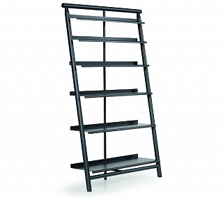 Suite bookcase Black