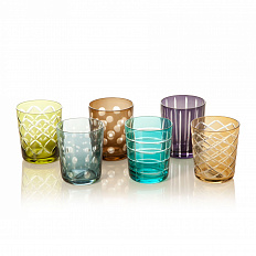 Набор Pols Potten Tumbler cuttings Glasses 140-230-083