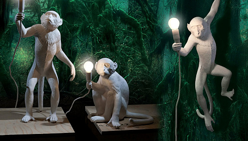 Подвесной светильник Seletti Monkey Lamp Ceiling Monkey Lamp 14923