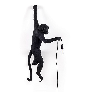 Monkey Lamp Hanging Left