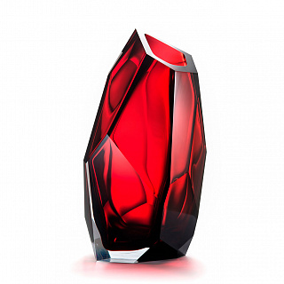 Crystal rock Large red