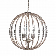 Люстра Delight Collection KW0782P-4 silver Wood Light
