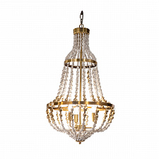 Люстра Delight Collection KW0784P-3 gold Wood Light