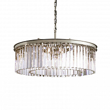 Подвесной светильник Delight Collection Odeon 10B chrome/clear 1920s Odeon